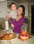 Jennifer Pham & son