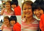 Phuong Vy & mom