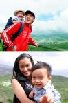 Lam Truong, wife, & son