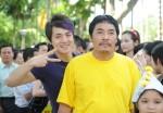Dang Khoi and comedian Le Quoc Nam