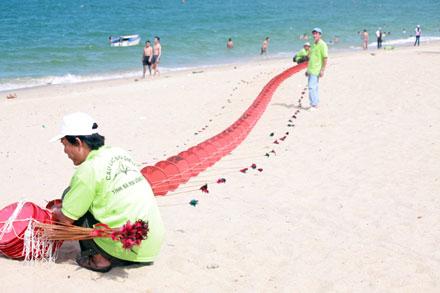 kite on nha trang beach