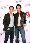"""Hua Vi Van (from """"Tran Thu Do"""") & model(?) Nathan Lee"""