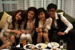 L-R: Yen Trang, Bao Thy, Thuy Tien, &  famous blogger-Robbey Le