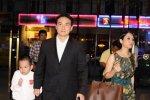 actor Chi Bao & family