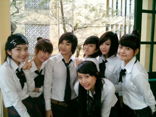 School uniform of Vietnamese students, School uniform of Vietnamese pupils